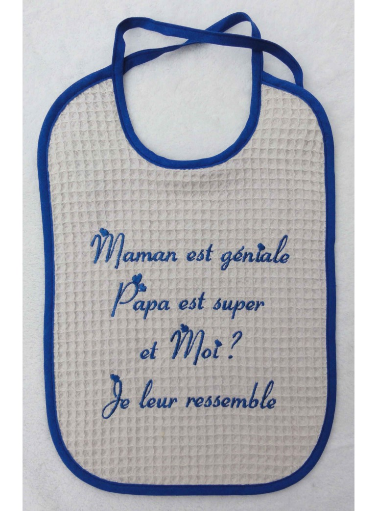 copy of Bavoir éponge nid...